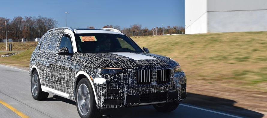 Έτοιμες οι πρώτες BMW X7 προ-παρασκευής