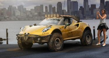 Η Alfa Romeo 4C μετατράπηκε σε θηρίο της ερήμου