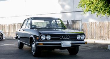 Ένα καλοδιατηρημένο Audi 100 του 1974