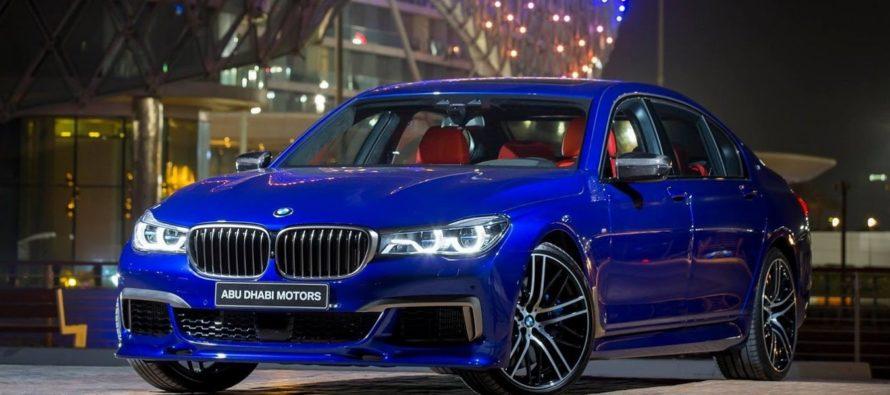 Η BMW M760Li σε φανταχτερές αποχρώσεις