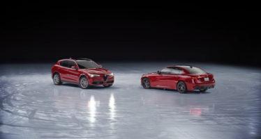 Οι Alfa Romeo Stelvio και Giulia χορεύουν στον πάγο (video)