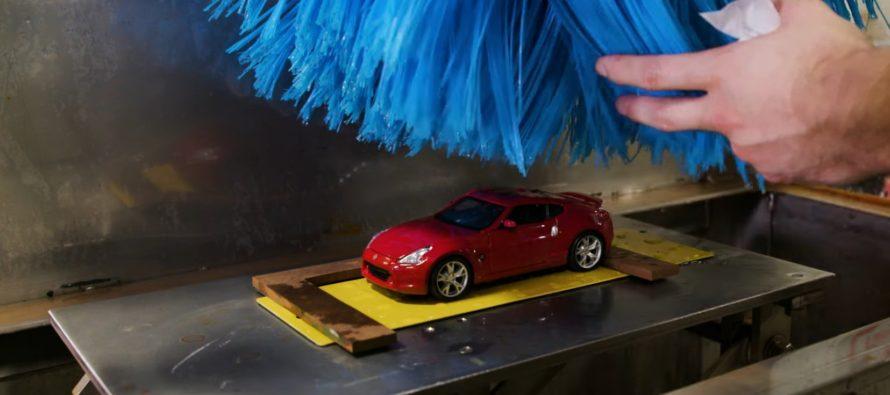 Το μικρότερο πλυντήριο αυτοκινήτου στον κόσμο (video)