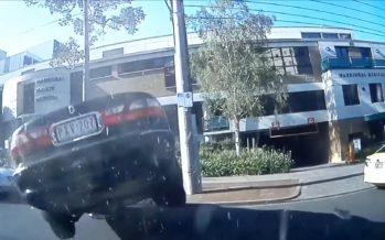 Άλμα έκανε με το αυτοκίνητο του 96χρονος (video)