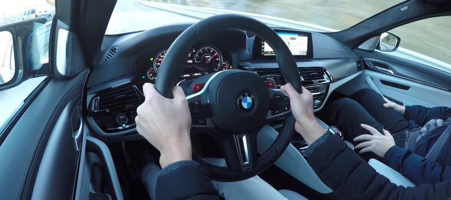Ακούστε τους 600 ίππους της BMW M5 να καλπάζουν (video)