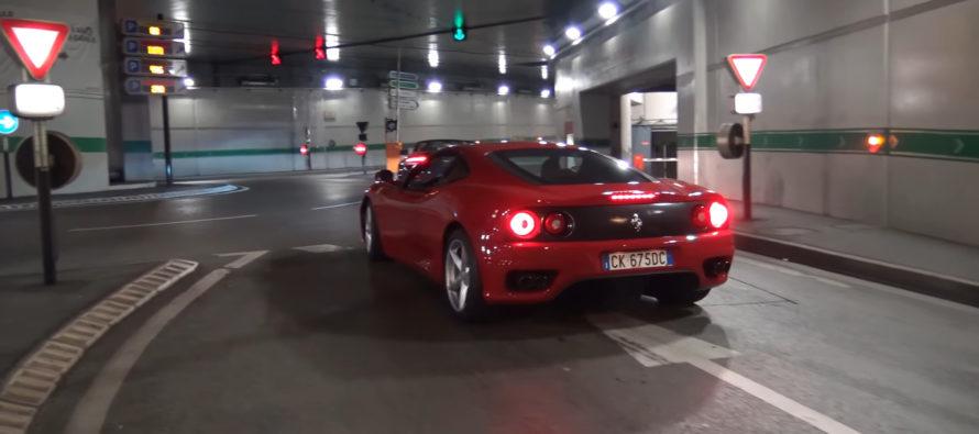 Δείτε μια Ferrari 360 να δίνει πόνο (video)