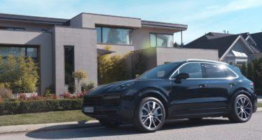 Η Porsche Cayenne και η γειτόνισσα (video)