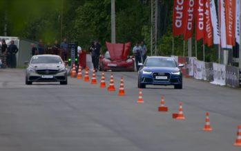 Στην ευθεία αναμετριούνται Audi RS6 και Mercedes-AMG CLS (video)