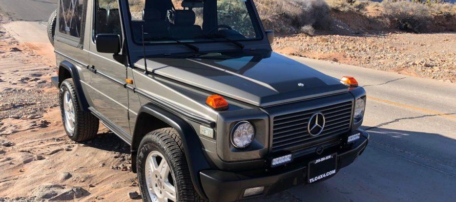 Πωλείται μια σπάνια Mercedes G-Class Cabrio