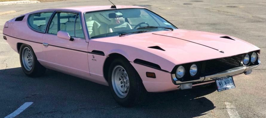 Θα αγοράζατε μια ροζ Lamborghini Espada;