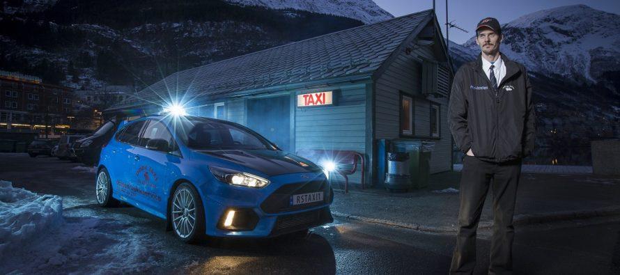 Το Ford Focus RS έγινε ταξί (video)