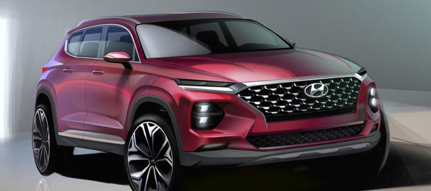 Από αυτά τα σκίτσα θα προκύψει το νέο Hyundai Santa Fe