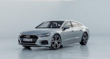 Η οροφή και η κεντρική κονσόλα του Audi A7 Sportback εντυπωσιάζουν