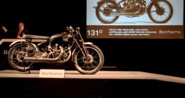 Πόσο πουλήθηκε η ακριβότερη μοτοσικλέτα;