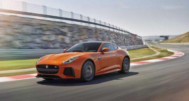 Νοικιάστε μια Jaguar F-Type SVR με 247 ευρώ τη μέρα
