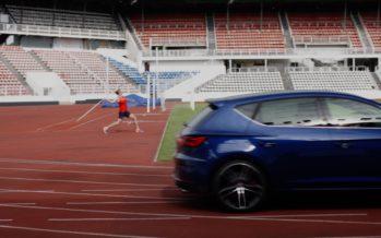 Είναι ταχύτερο το Seat Leon Cupra από ένα ακόντιο; (video)