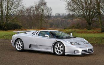 Η Bugatti EB110 SS διακρίνεται ακόμα για το χαμηλό της βάρος
