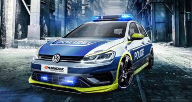 Το Volkswagen Golf R περιπολεί και οπλοφορεί με 400 ίππους