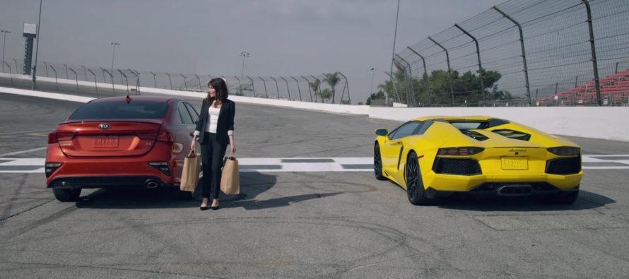Είναι καλύτερο το νέο Kia Forte από την Lamborghini Aventador; (video)