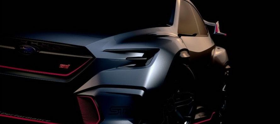 Με άγριο παρουσιαστικό το Subaru VIZIV Performance STI Concept
