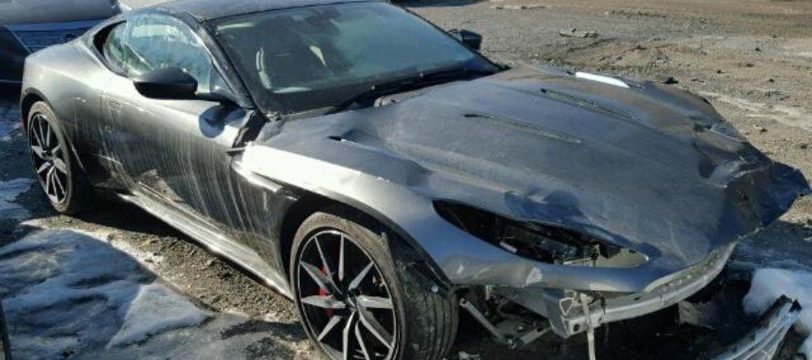 Πόσο κοστίζει μια τρακαρισμένη Aston Martin DB11;