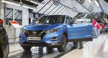 Πού κατασκευάστηκαν 3 εκατομμύρια Nissan Qashqai;