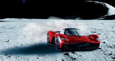 Η Aston Martin βάφει την Valkyrie με σκόνη από τη Σελήνη