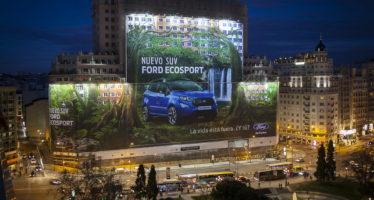 Ρεκόρ Γκίνες στη Ford για τη μεγαλύτερη διαφημιστική αφίσα (video)