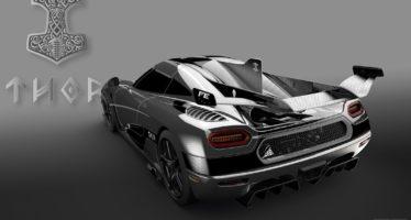 Η τελευταία Koenigsegg Agera FE βαπτίστηκε Thor