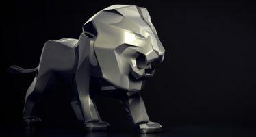 Το λιοντάρι ύψους 4,8 μέτρων της Peugeot (video)