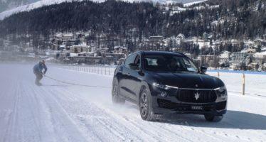 Ρεκόρ Γκίνες ρυμούλκησης πάνω στο χιόνι με Maserati Levante