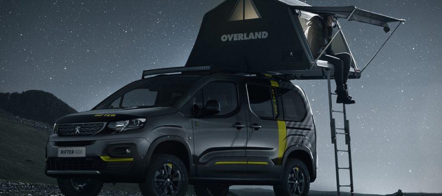 Κατασκηνώστε στη φύση με το Peugeot Rifter 4X4 Concept