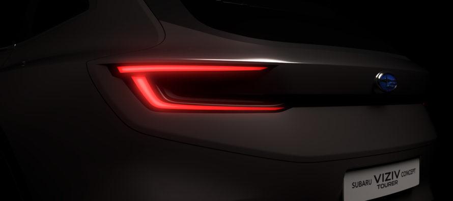 Το νέο station wagon μοντέλο της Subaru