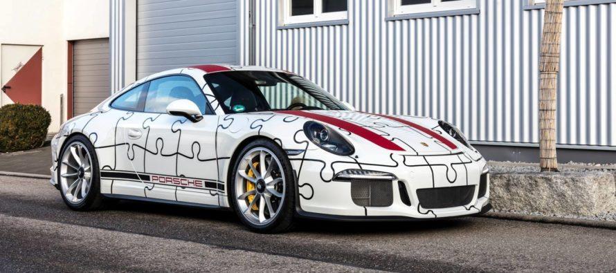 Ένα αληθινό παζλ της Porsche 911 R