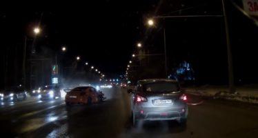Δείτε την πολλαπλή σύγκρουση ενός Nissan 350Z (video)