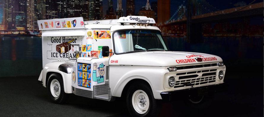 Γλυκές αναμνήσεις από ένα παλιό φορτηγό παγωτού