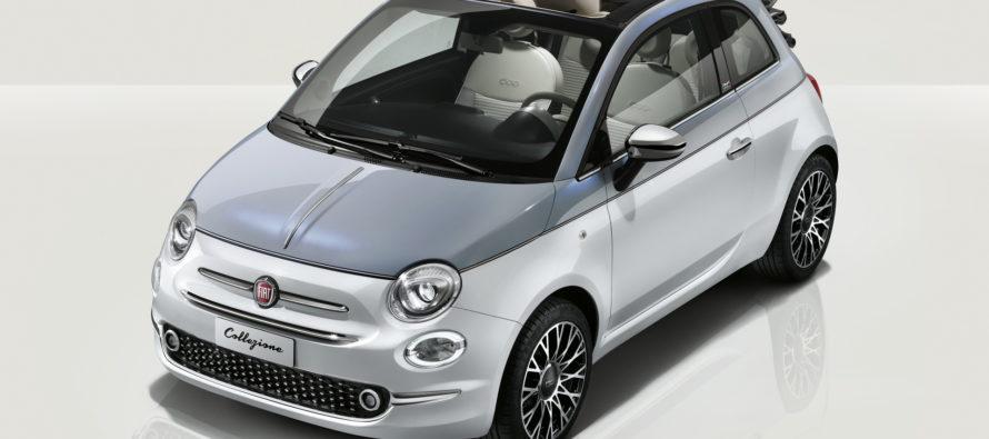 Τι προσφέρει η νέα έκδοση Collezione του Fiat 500;