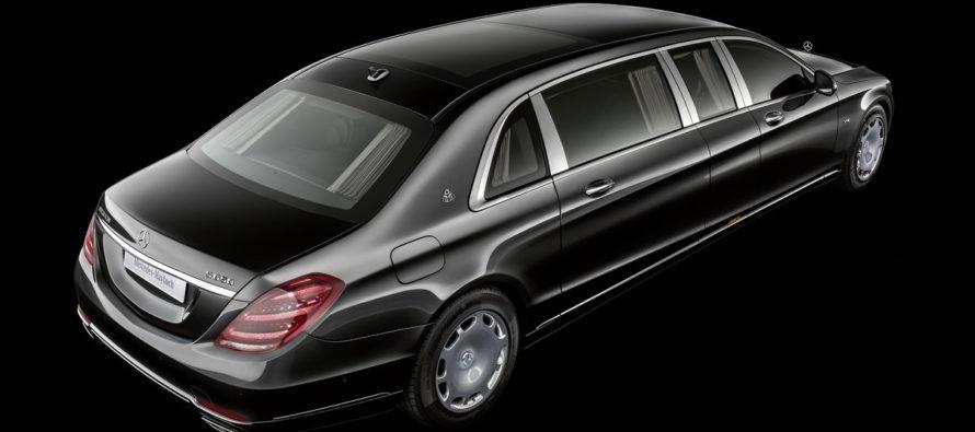 Η λιμουζίνα Mercedes-Maybach Pullman του μισού εκατ. ευρώ