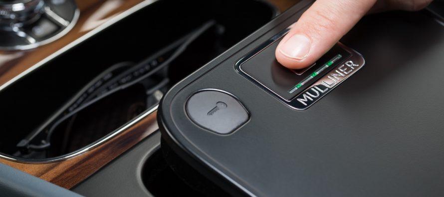 Το ντουλαπάκι της Bentley Bentayga ανοίγει με δακτυλικό αποτύπωμα
