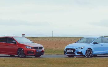 Ταχύτερο στην πίστα το Hyundai i30 N ή το Peugeot 308 GTi; (video)