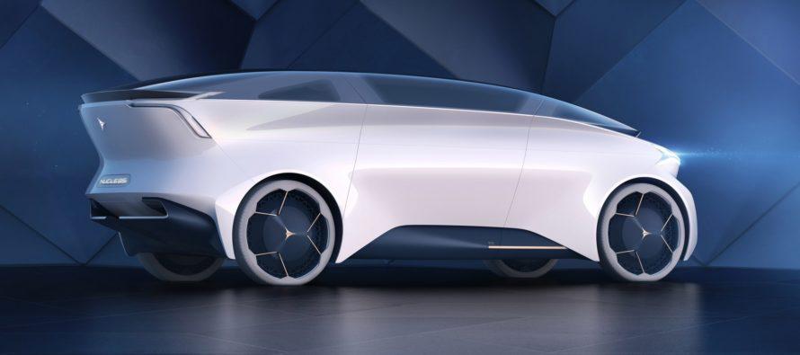 Το Icona Nucleus Concept είναι ένα σαλόνι με τροχούς