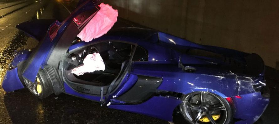 Τι γίνεται όταν τρακάρεις μια νοικιασμένη McLaren 650S;