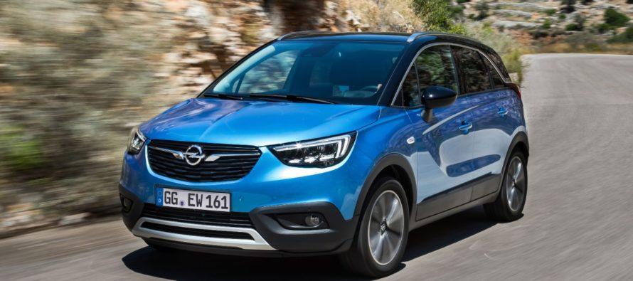 Στις 100.000 έφτασαν οι πωλήσεις του Opel Crossland X