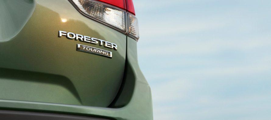 Το πίσω τμήμα από το νέο Subaru Forester