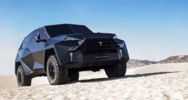 Το ακριβότερο SUV Karlmann King κοστίζει 3,8 εκατ. δολάρια (video)