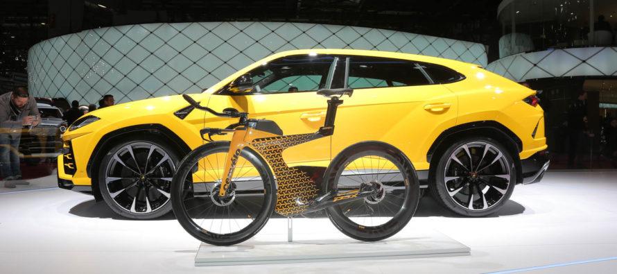 Το ποδήλατο της Lamborghini (video)