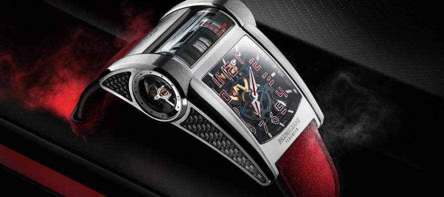 Με το ρολόι της Bugatti Chiron Sport η ώρα περνάει πολύ γρήγορα
