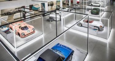 Έκθεση με σημαντικά μοντέλα της Porsche