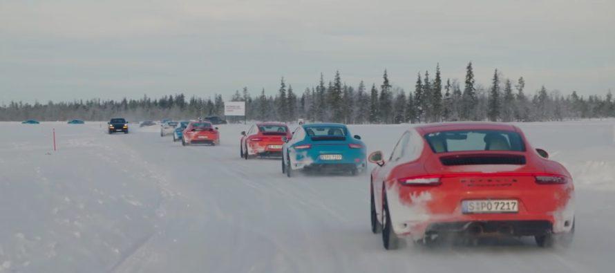 Η Porsche έχει πείρα τριάντα ετών στην τετρακίνηση (video)