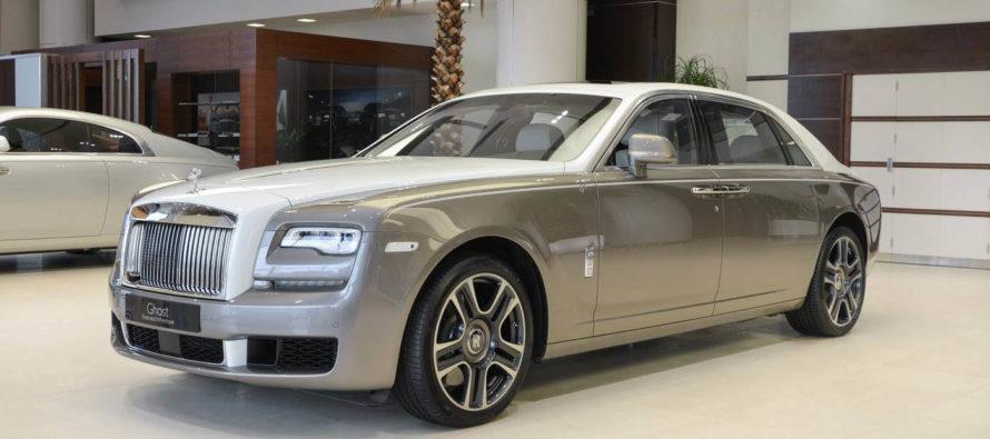 Μια Rolls-Royce Ghost εμπνευσμένη από την ισλαμική τέχνη