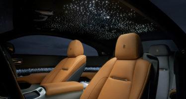 Με 176 Led φώτα η καμπίνα της Rolls-Royce Wraith Luminary Edition